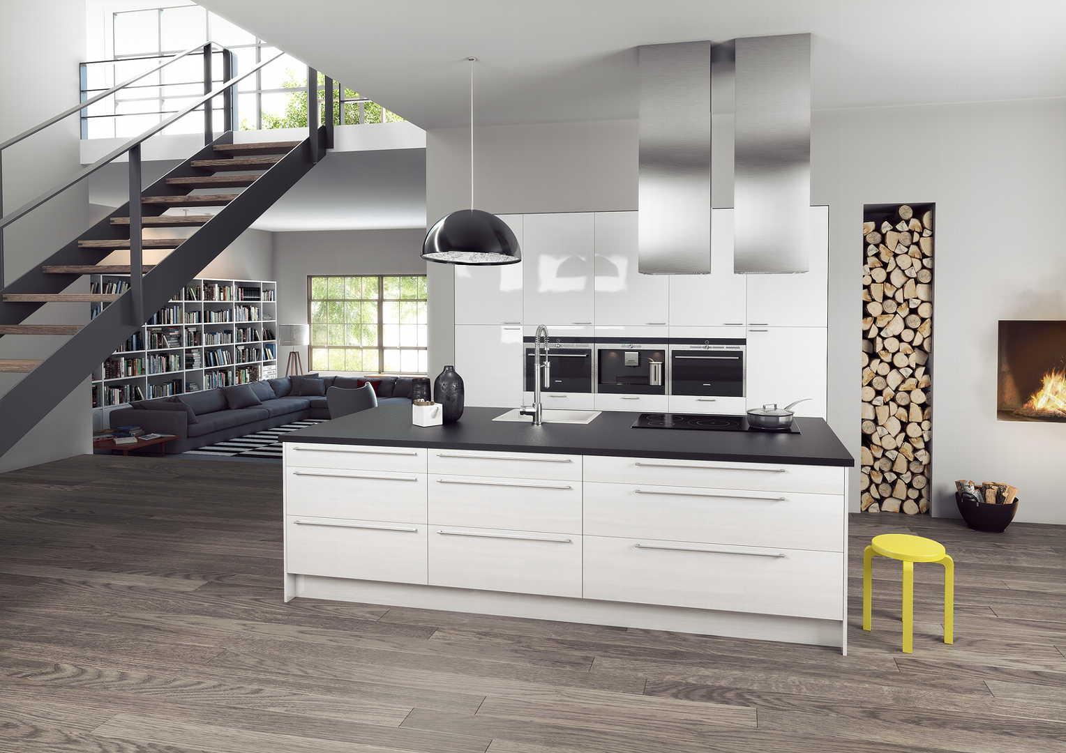 Moderni keittiö, Sisustus  keittiö, Epoq, 5242cebd498e62e699879818  Etuovi