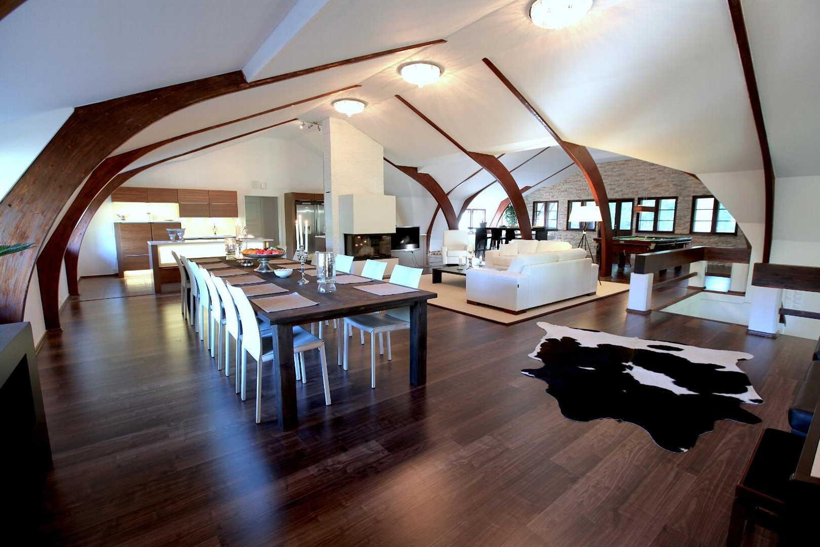 Moderni keittiö olohuone ruokailutila, Etuovi com Asunnot, 52a01e70498e5d0348