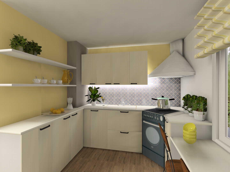 Sisustustrendit 2014: kirkkaan keltainen keittiössä
