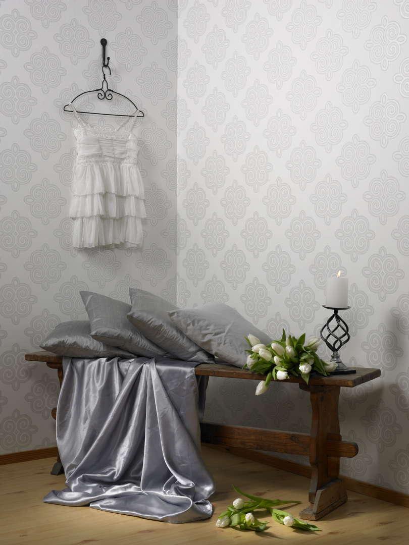 Sisustus  makuuhuone  Sandudd  Maalaisromanttinen