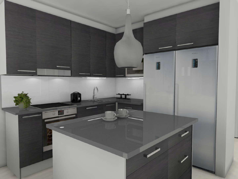 Moderni keittiö, Sisustus  keittiö, Henna Riikka Koskinen  Koski Design Roo
