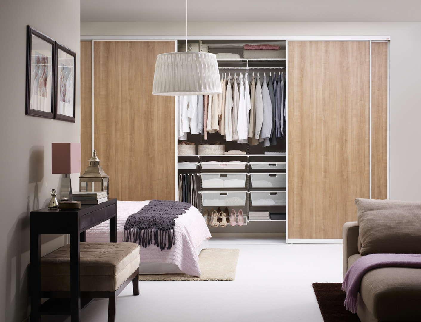 makuuhuone, KonMari, säilytys, vaatekaappi, sisustusideat, sisustusidea