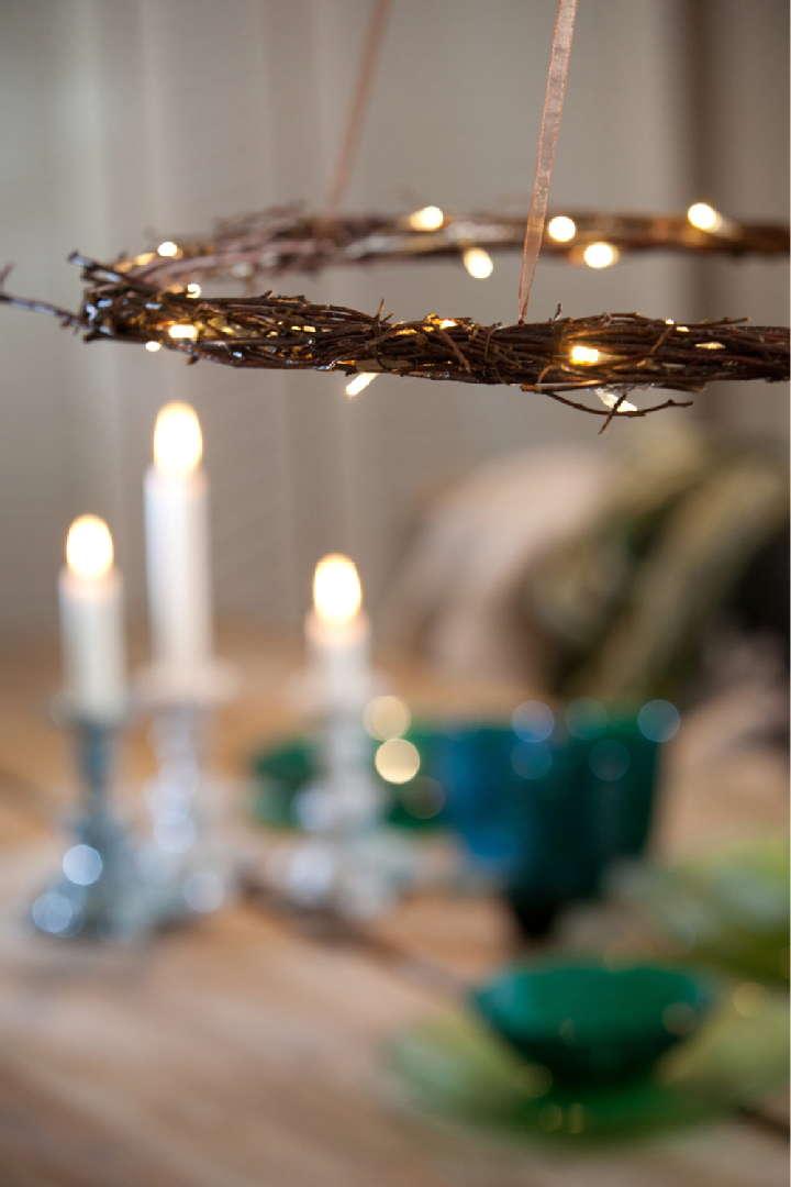 valokranssi, kynttiläkruunu