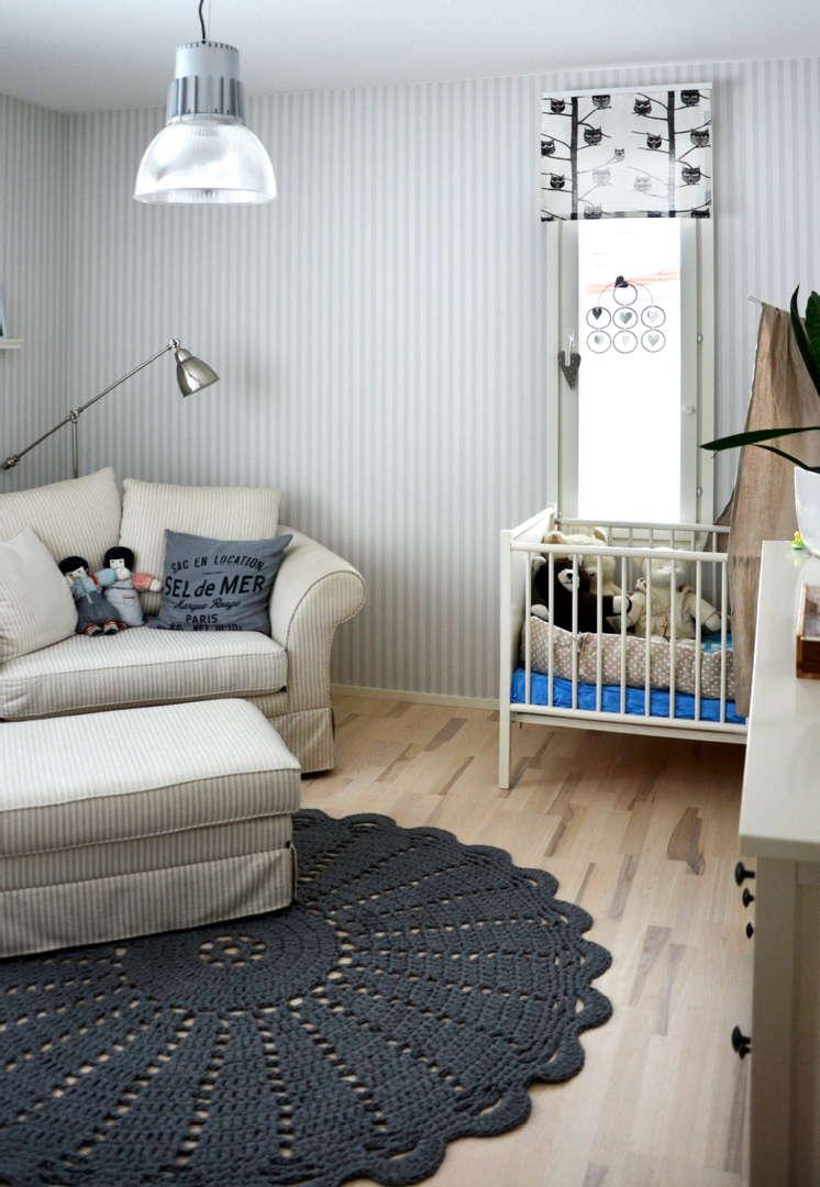 virkattu matto, pinnasänky, lastenhuone