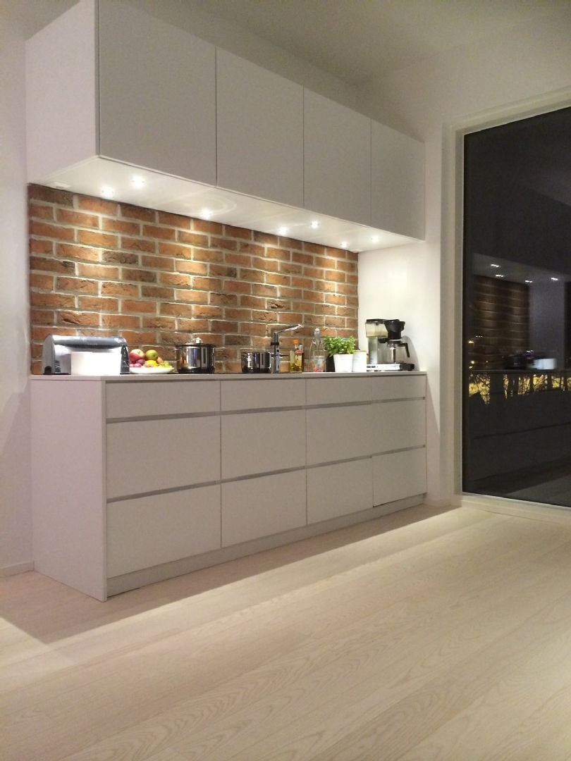 Moderni keittiö, Harri, 55041ff5e4b02e4613054f9b  Etuovi com Sisustu