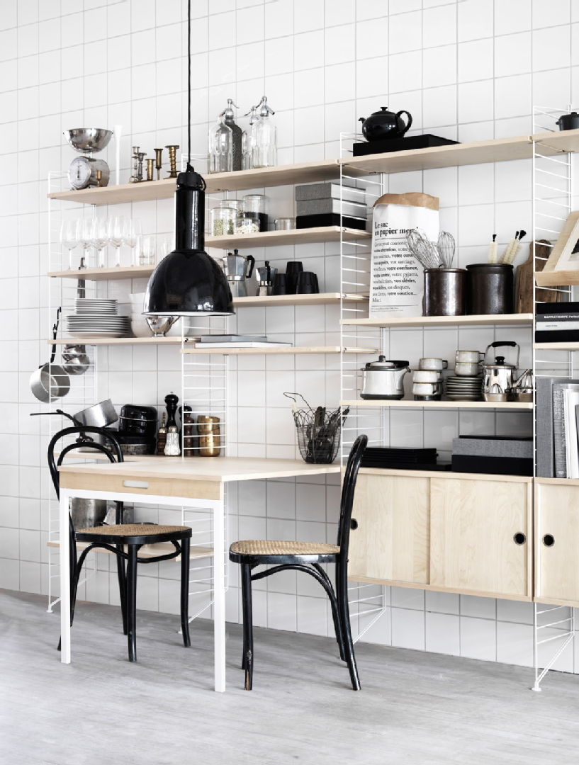 Skandinaavinen keittiö, hylly, ROOM21, 5521201fe4b06439f4998116  Etuovi com