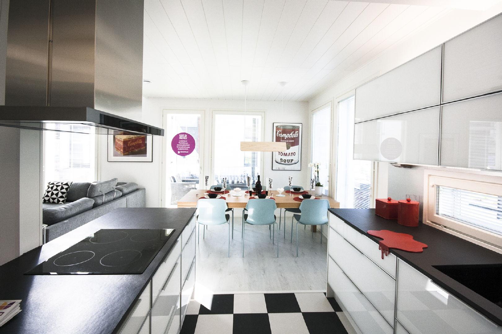 Moderni keittiö, Asuntomessut 2015, Asuntomessut 2015 Vantaa, 55b9d6c9e4b0c08