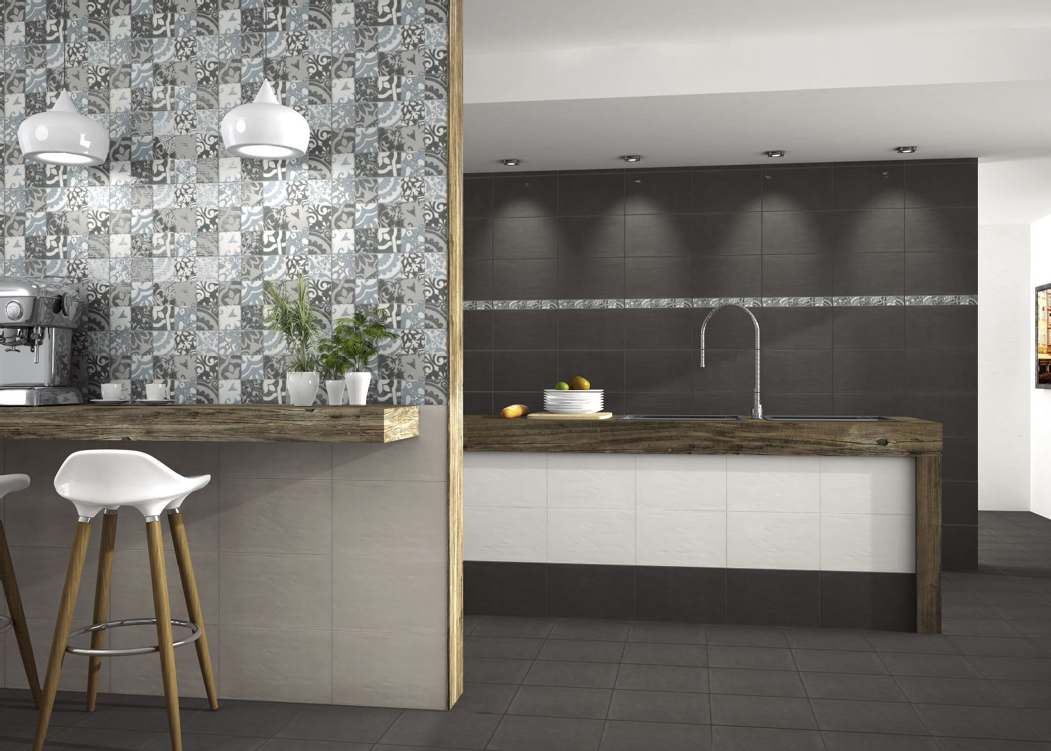 Moderni keittiö, Seinälaatta, K rauta, 5612af3be4b0288996185975  Etuovi com