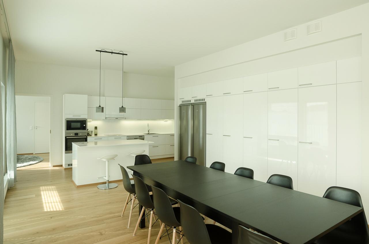 Moderni keittiö, Keittiö, Kiinteistömaailma Verdulo Oy