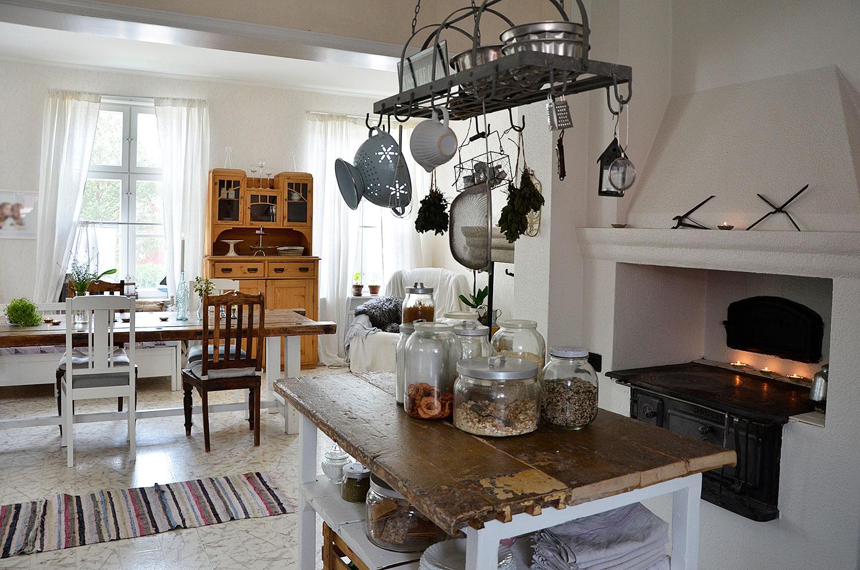 kaunis koti Pohjanmaalla, keittiö, ruokailutila